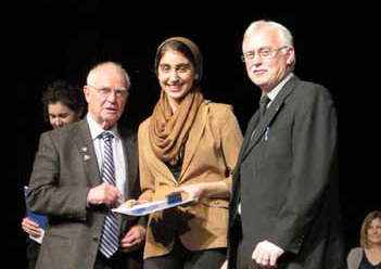 John Messenger, Saba Balvardi and Gary Walker
